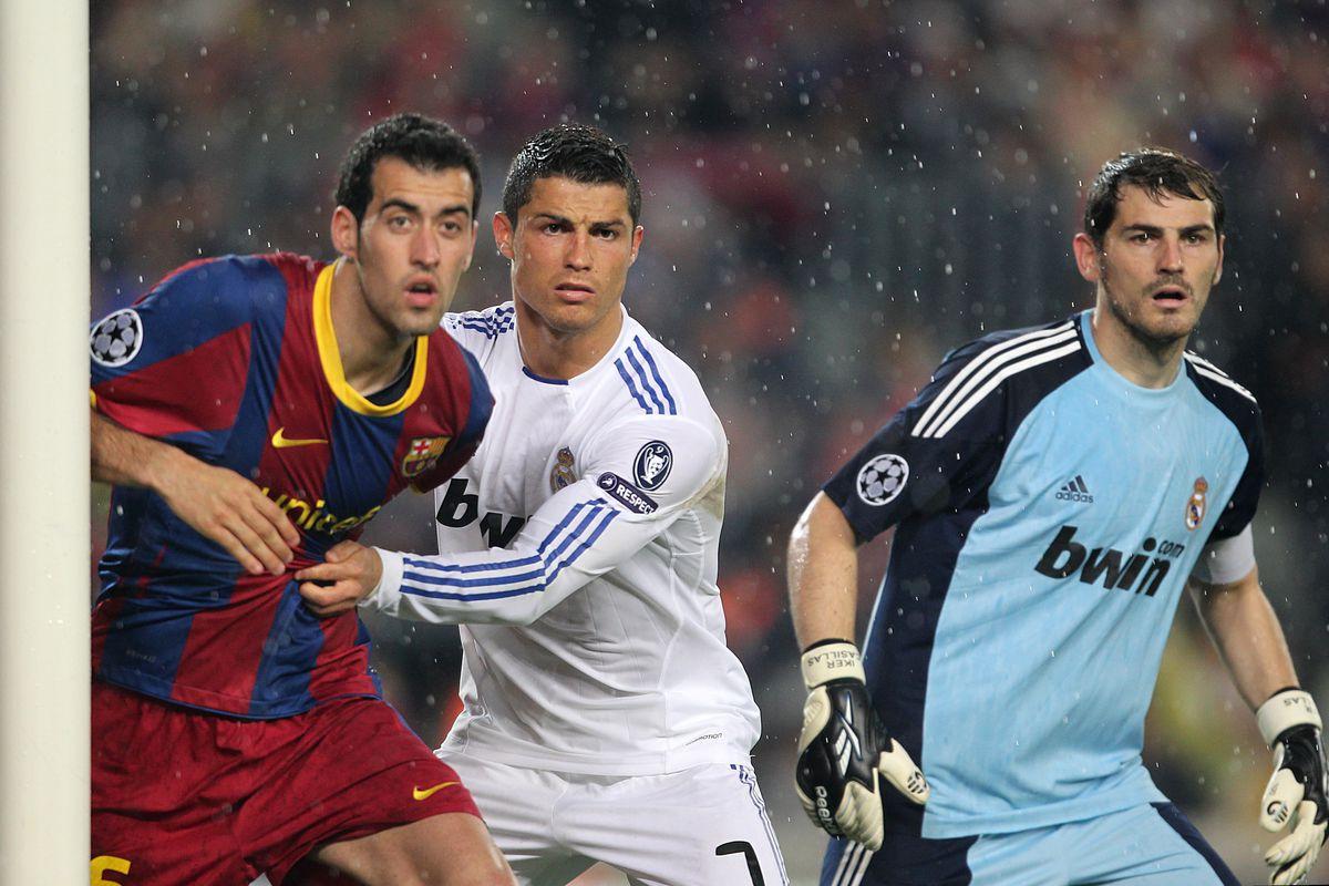 Soccer - UEFA Champions League - Semi Final - Second Leg - Barcelona v Real Madrid - Nou Camp
