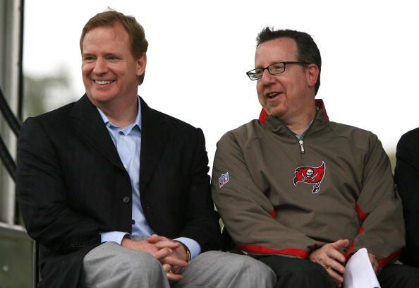 Bryan Glazer has asked to play more NFL games outside of Tampa Bay. (Courtesy of Doug Benc/Getty Images)