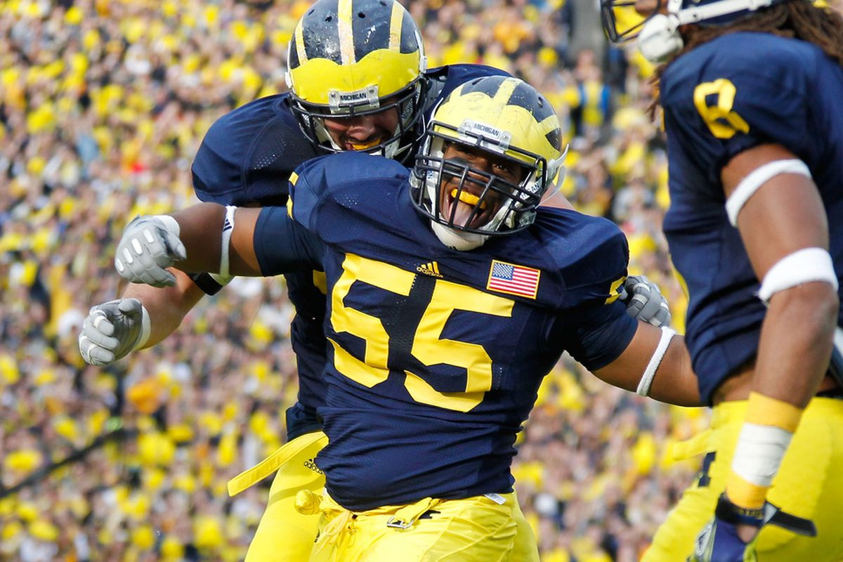 Jibreel Black will be one of the players Michigan counts on to step up in 2012. (Photo by Gregory Shamus/Getty Images)