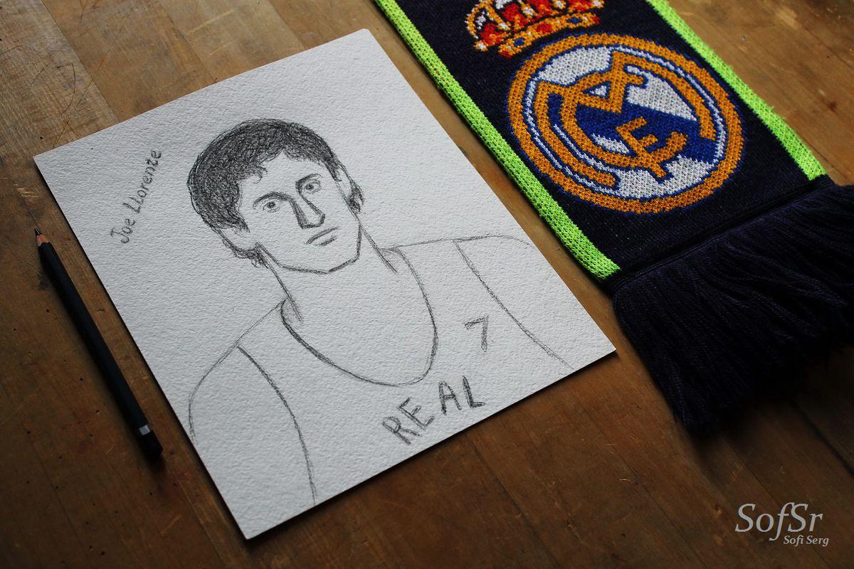 José Luis 'Joe' Llorente. Drawing by Sofi Serg.