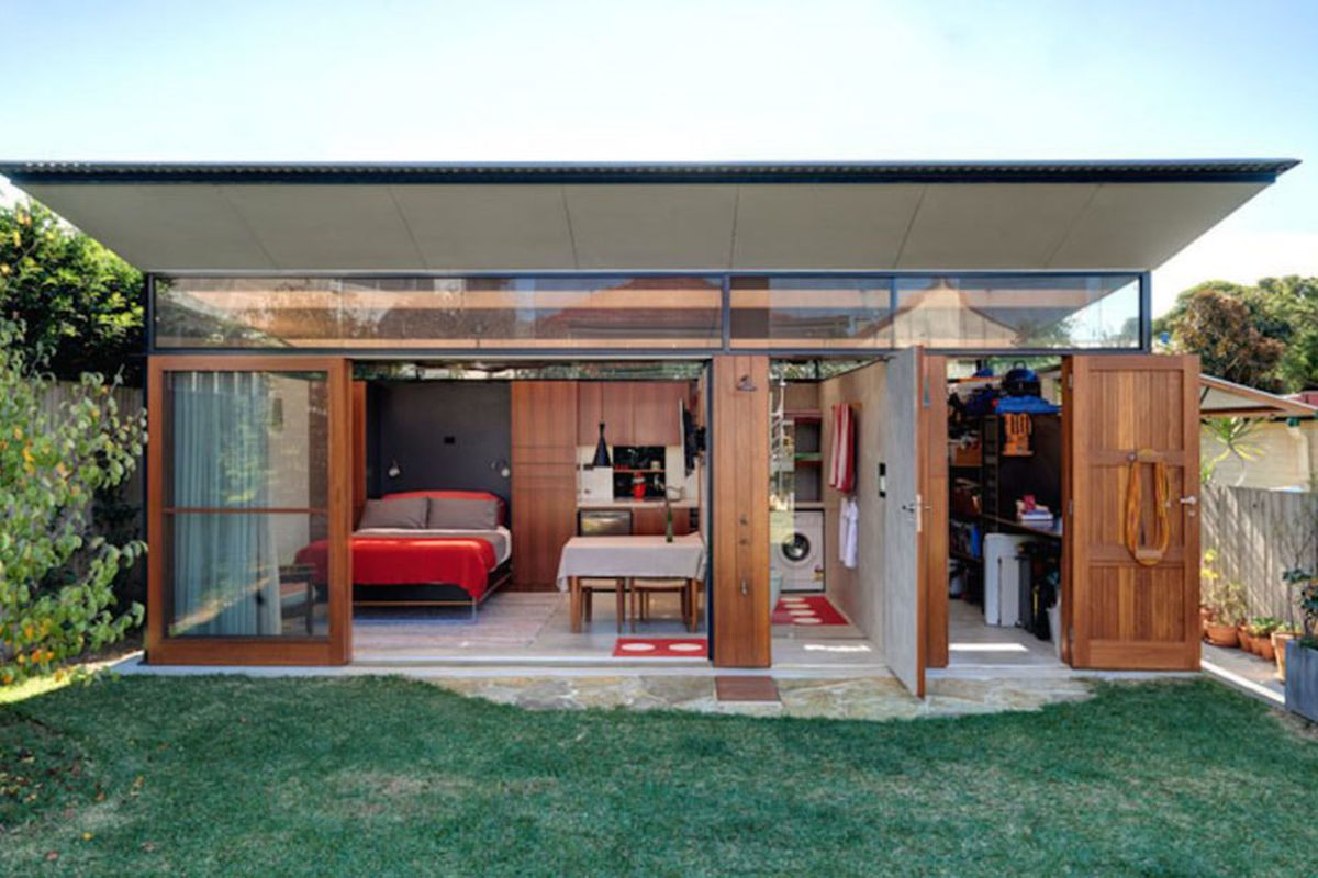Tiny Home Designs: Backyard Studio Packs Loads Of Amenities Into 312 Square