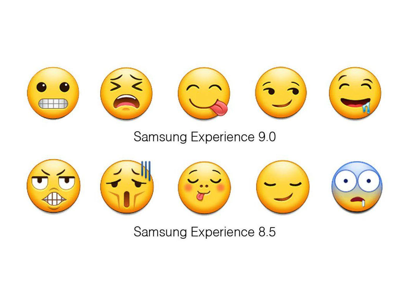 Samsung Is Finally Updating Its Terrible Emoji The Verge