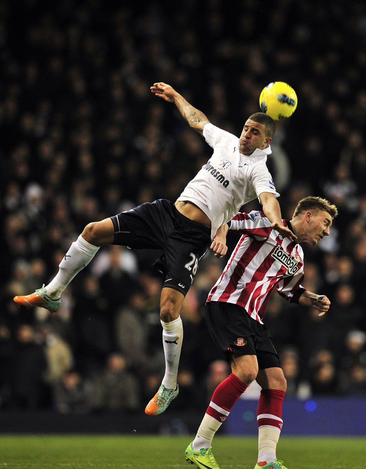 Tottenham Hotspur's English defender Kyl
