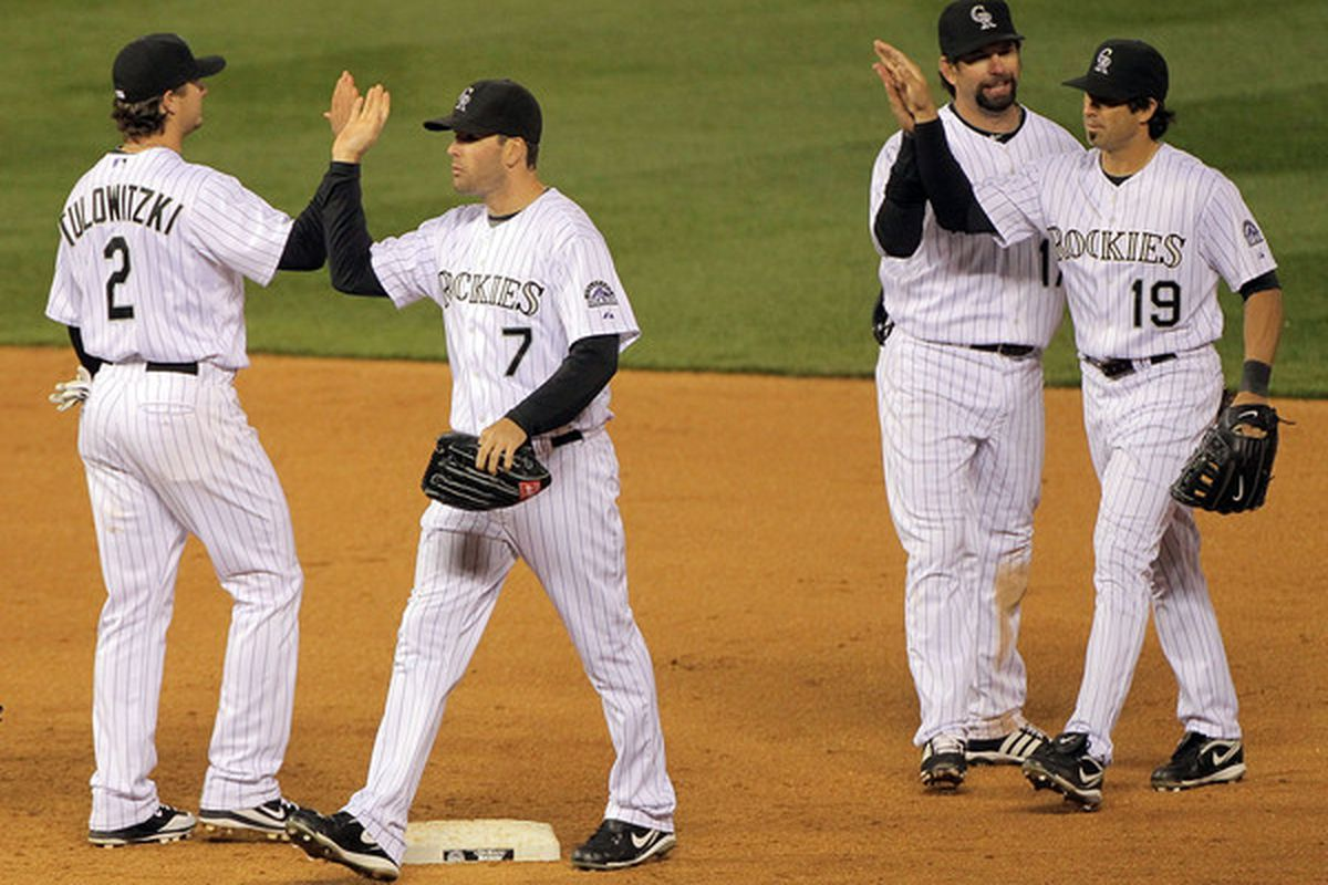 """Helton: """"Wait...didn't I just high-five you?"""""""
