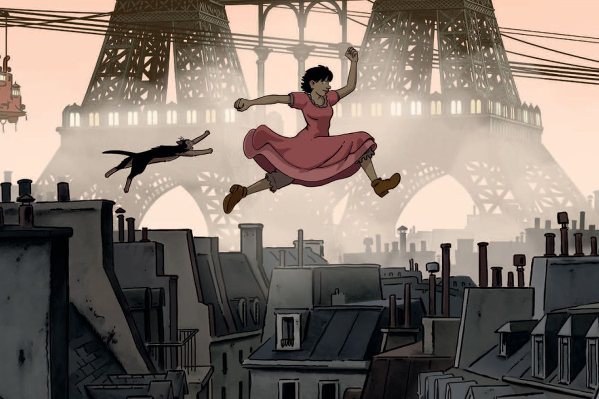 April And The Extraordinary World Steampunk Paris Grim Lovely Chicago Sun Times