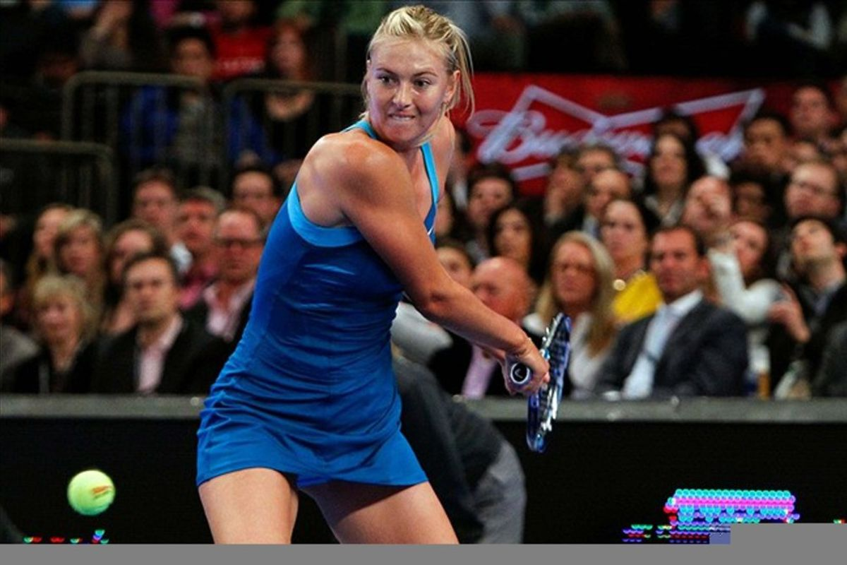 Maria Sharapova will be the first-ever female flag bearer for Russia, in the first year the Russian female Oympians outnumber their male counterparts. (Credit: Debby Wong-US PRESSWIRE)