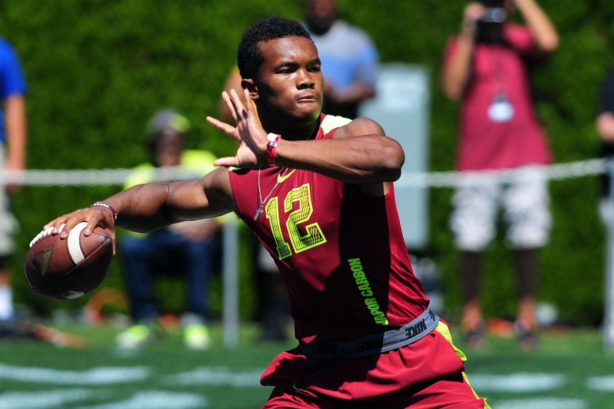 Kyler Murray at this summer's The Opening