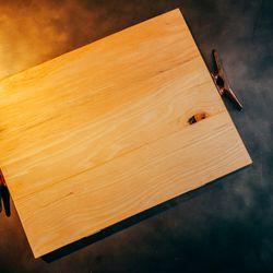 Boat wood Cutting board, $110