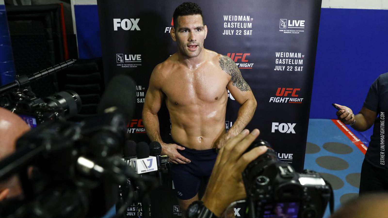 Ufc Long Island Post Fight Press Conference