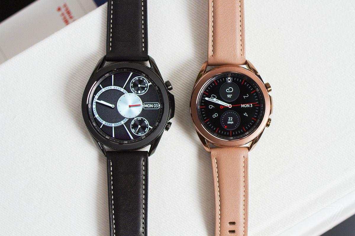 Galaxy Watch 3 Mystic Silver
