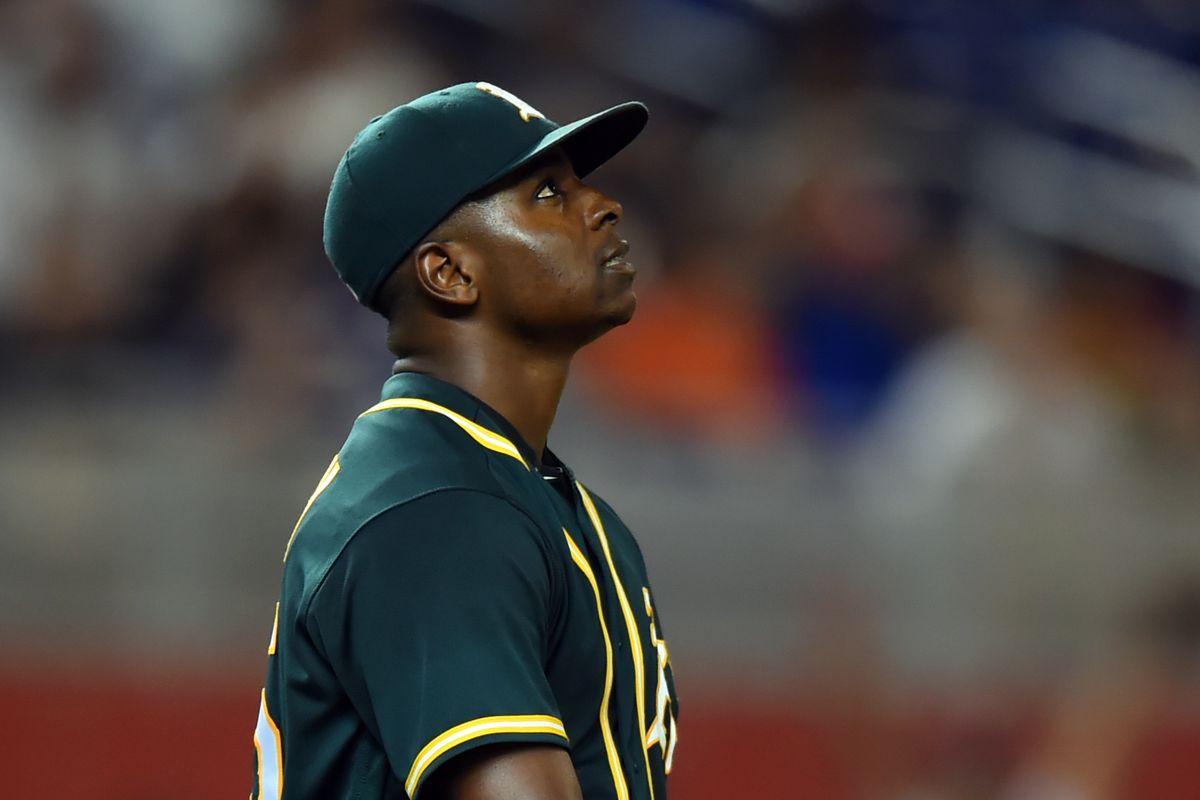 MLB: Oakland Athletics at Miami Marlins