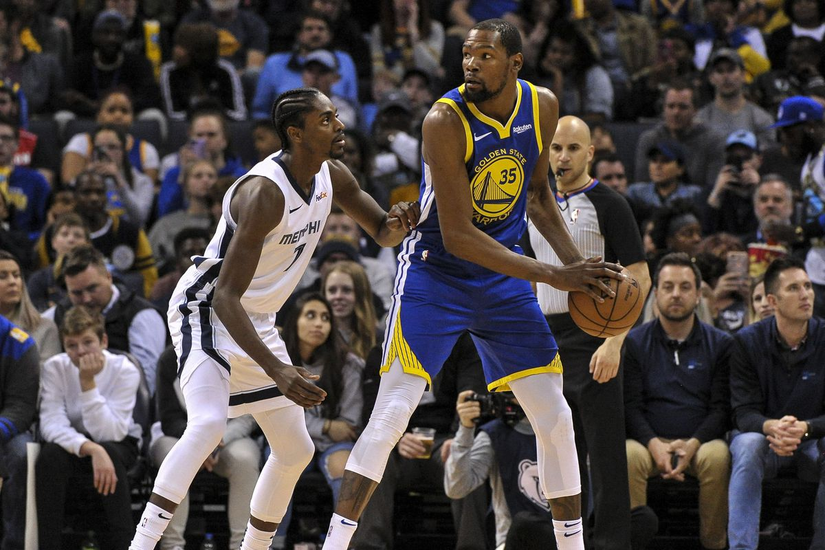 """99b41a6a4ba """"Kevin Durant has given himself permission to play inefficient basketball.  Volume shooting."""""""