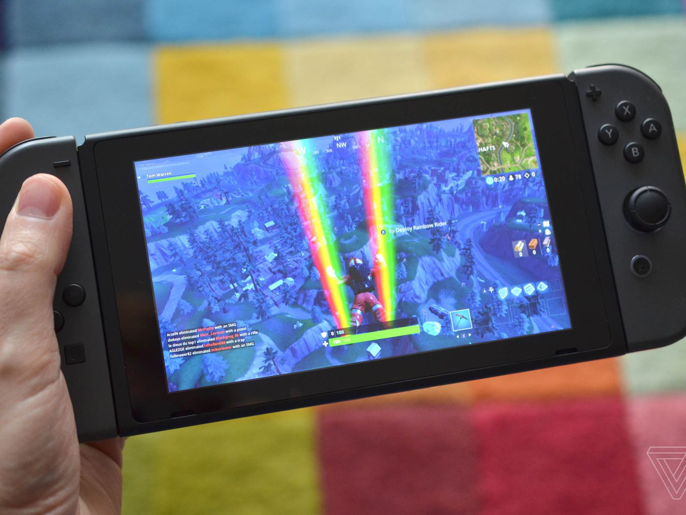 Fortnite Has Been Installed On Nearly Half Of Nintendo Switch Systems The Verge