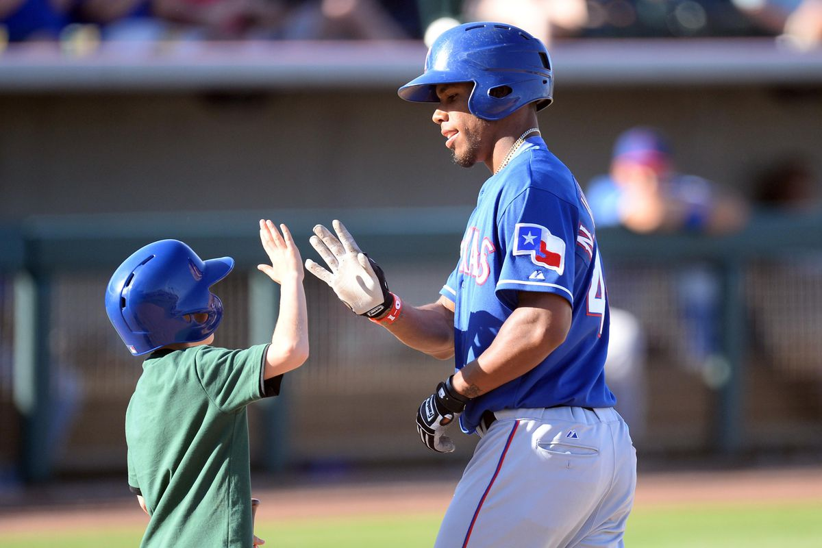 Nick Williams gives free high-fives.
