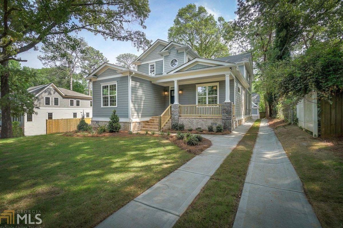 A newly built home seeking $829K in Atlanta's East Lake community.