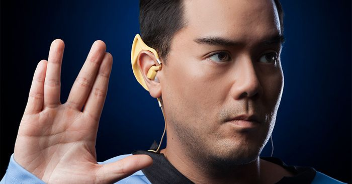 Star Trek fans can now buy Spock earbuds at ThinkGeek - Polygon