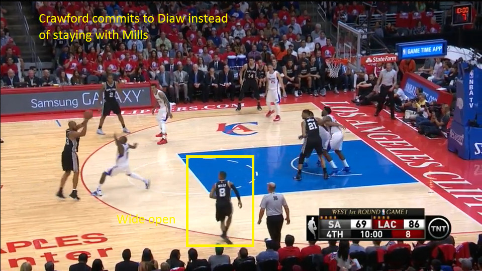 Diaw finds Mills