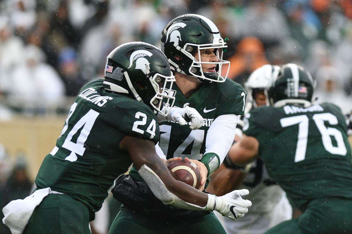COLLEGE FOOTBALL: OCT 26 Penn State at Michigan State
