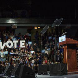 Former President Barack Obama headlines a Get Out The Vote rally Sunday. | Ashlee Rezin/Sun-Times