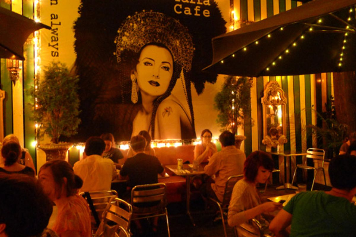 The now-departed Yaffa Cafe