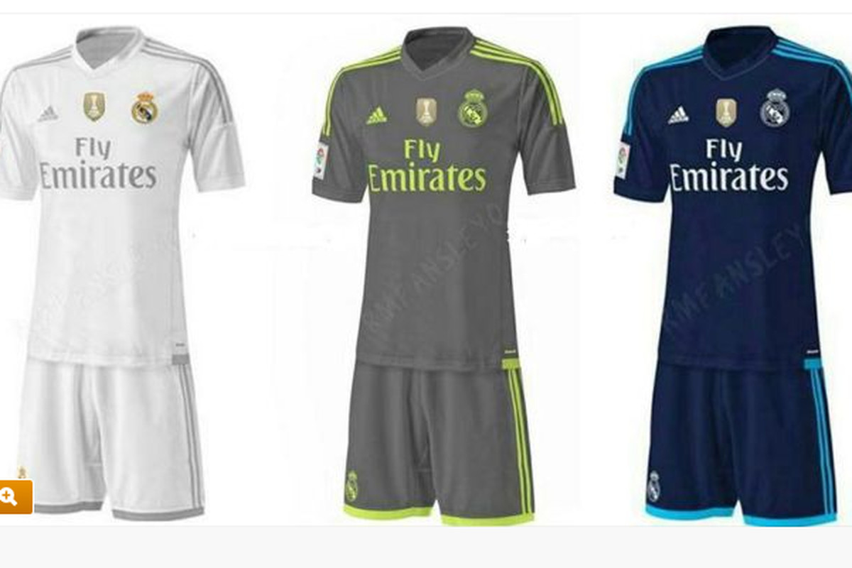 wholesale dealer 5196e 74282 Real Madrid 2015-2016 kits officially leaked - Managing Madrid