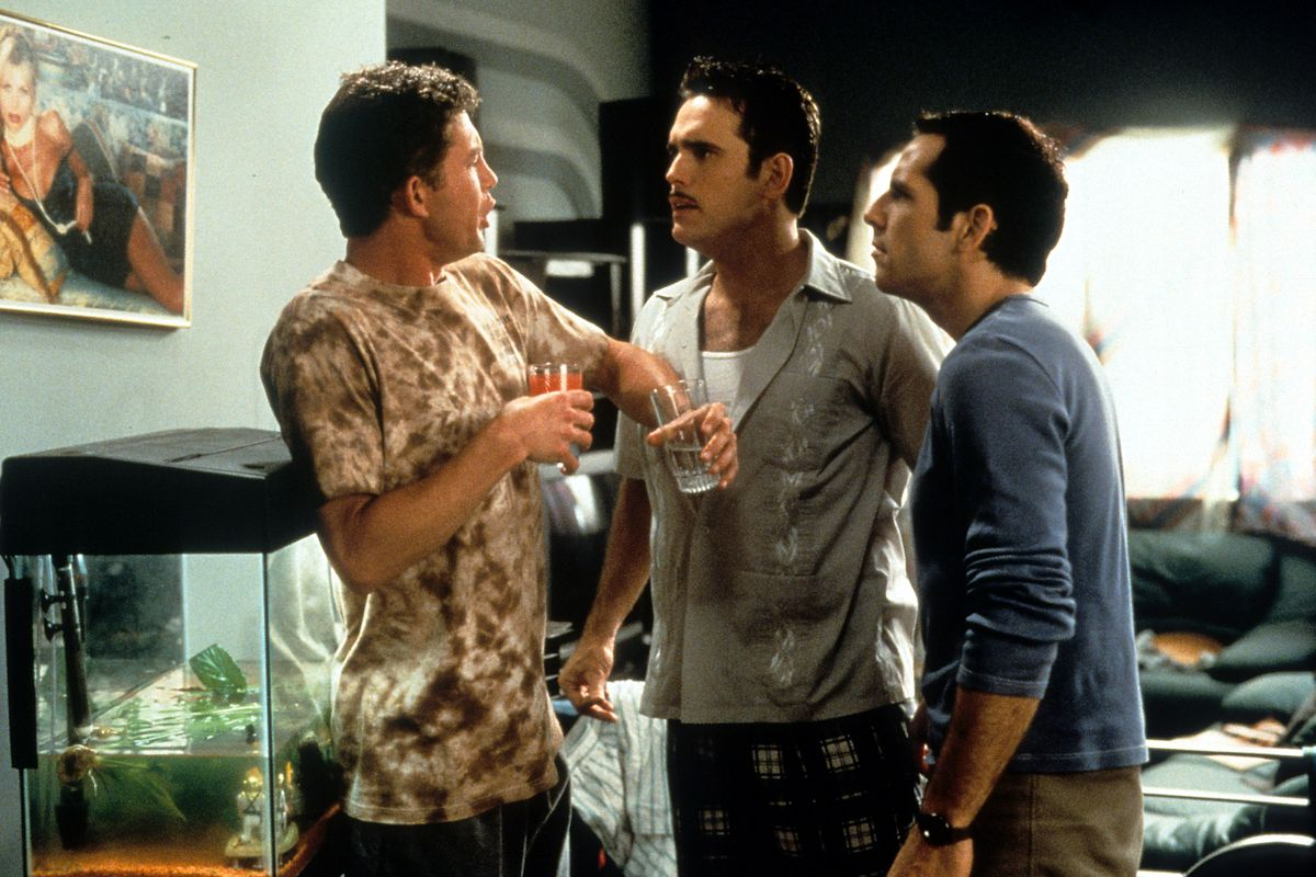 Matt Dillon And Ben Stiller In 'There's Something About Mary'