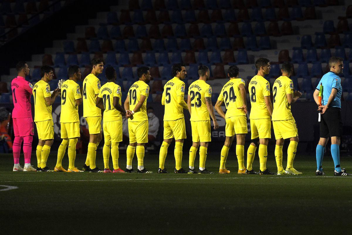 ESP: Levante UD-Villarreal CF. La Liga Santander.