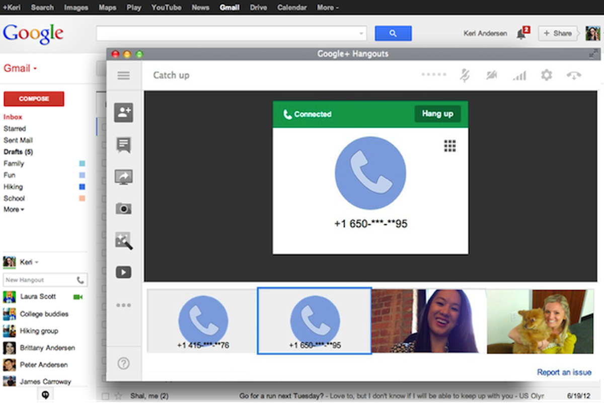 Google adds voice calling to Hangouts, promises 'the future of Google Voice' is here - The Verge