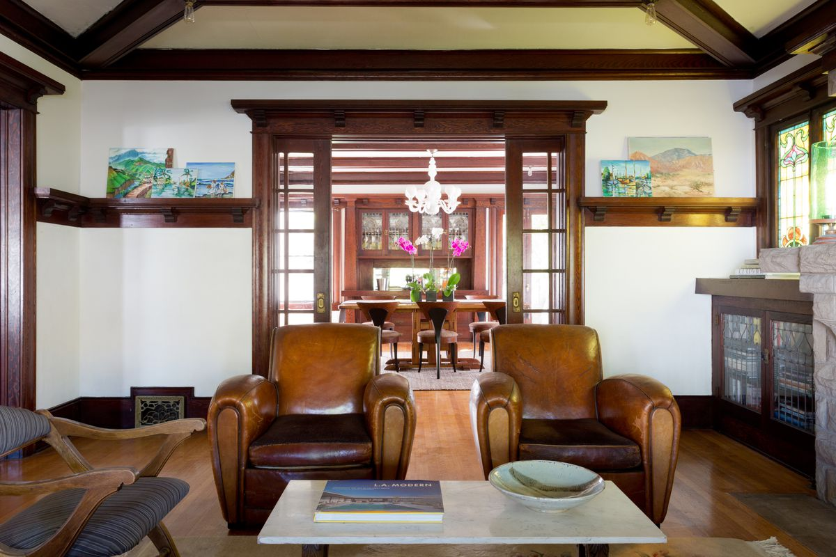 Interior shot of living room