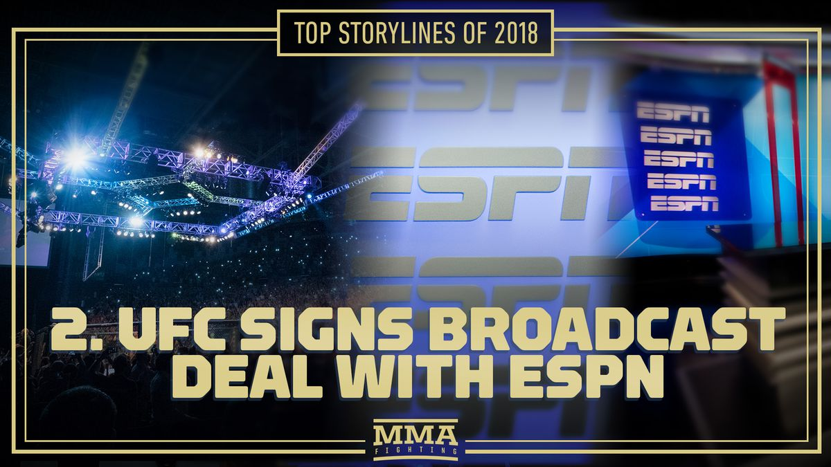Top MMA storylines of 2018: 2  UFC signs broadcast deal with