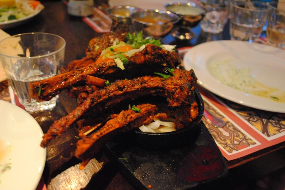 Lamb chops at Tayyabs, a classic London restaurant