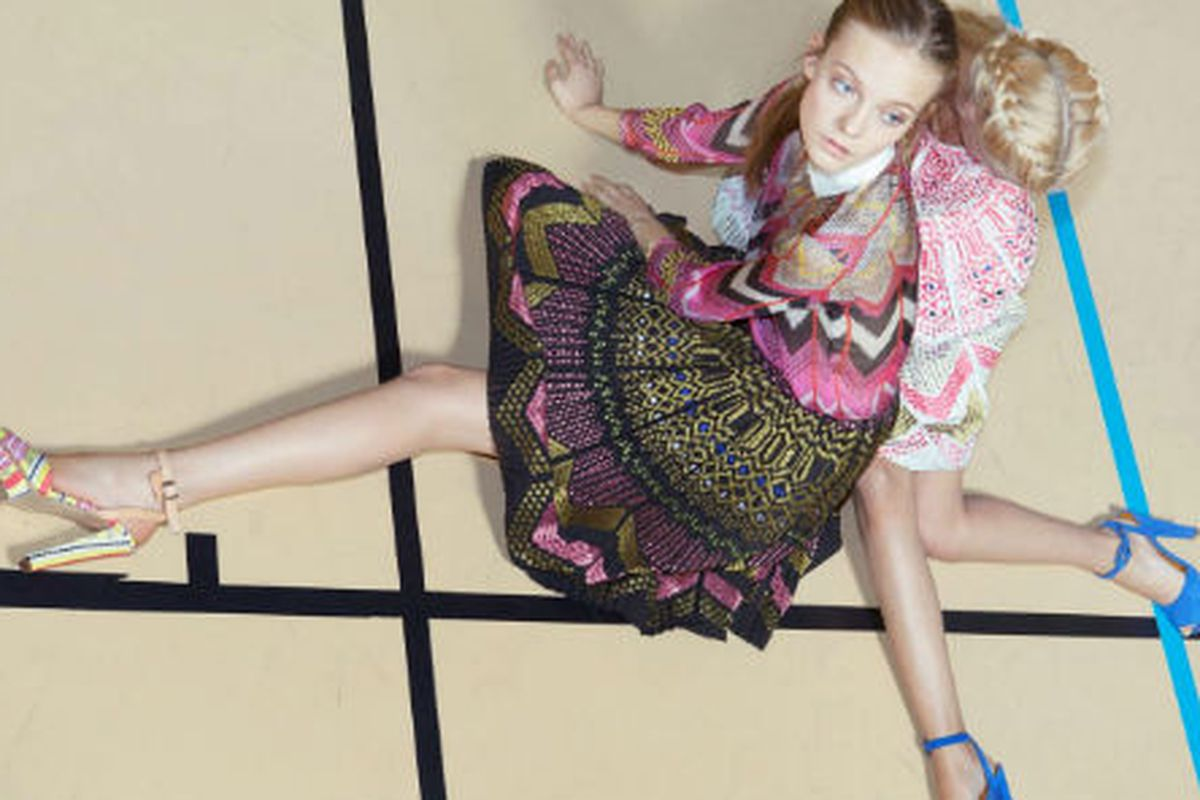 An image from Carven's spring 2012 campaign
