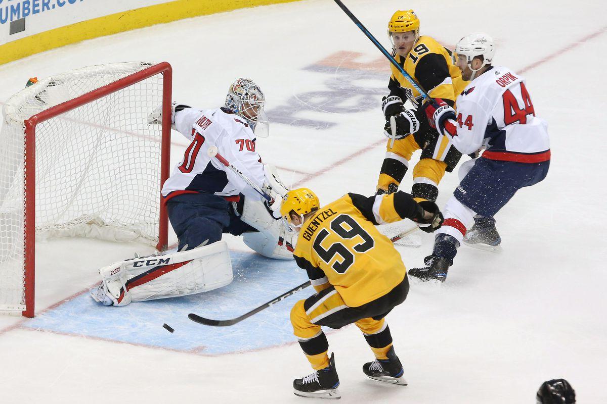89bae1c752f Capitals   Penguins Recap  Vrana s Two Goals