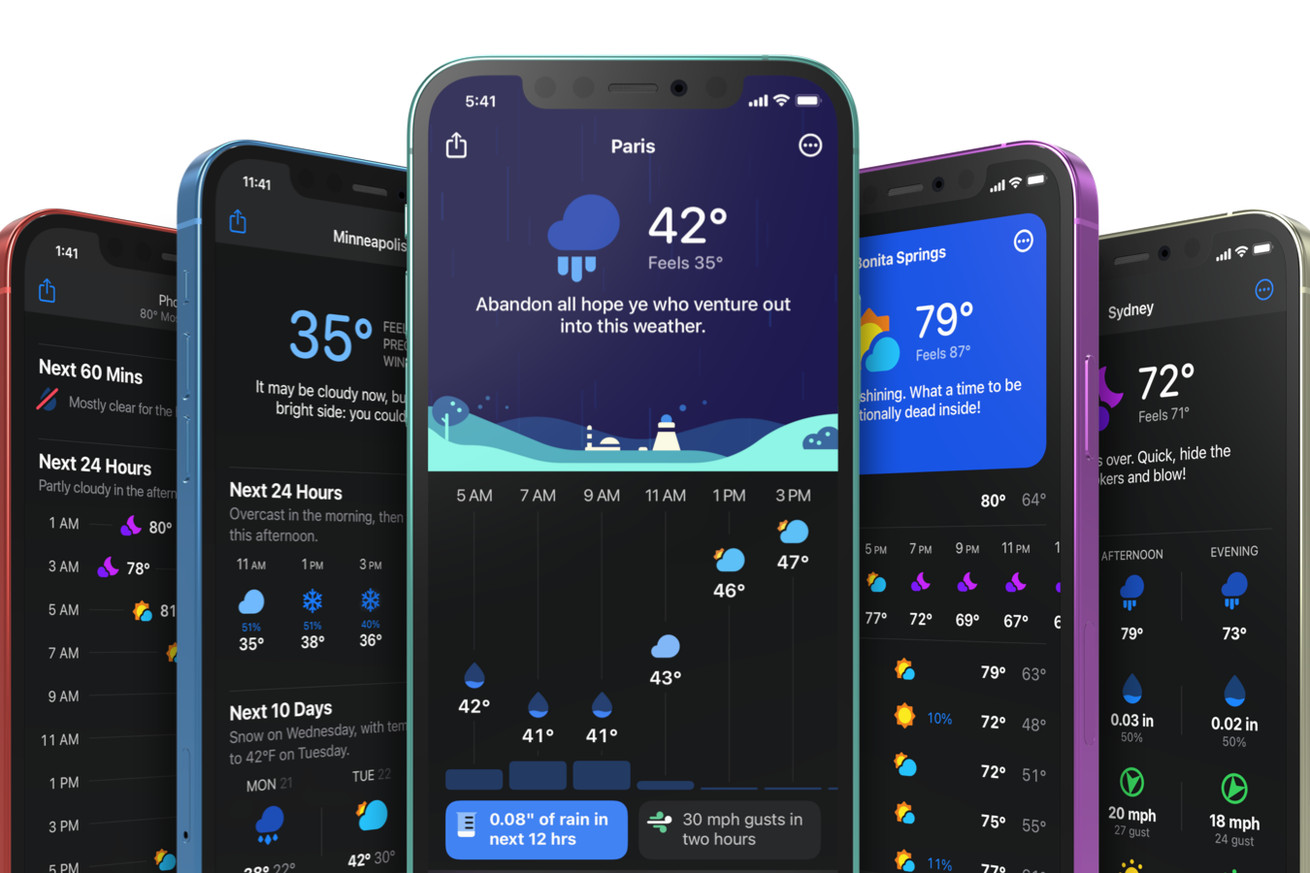 Carrot Weather gets a fresh new design and a bigger shift to subscriptions