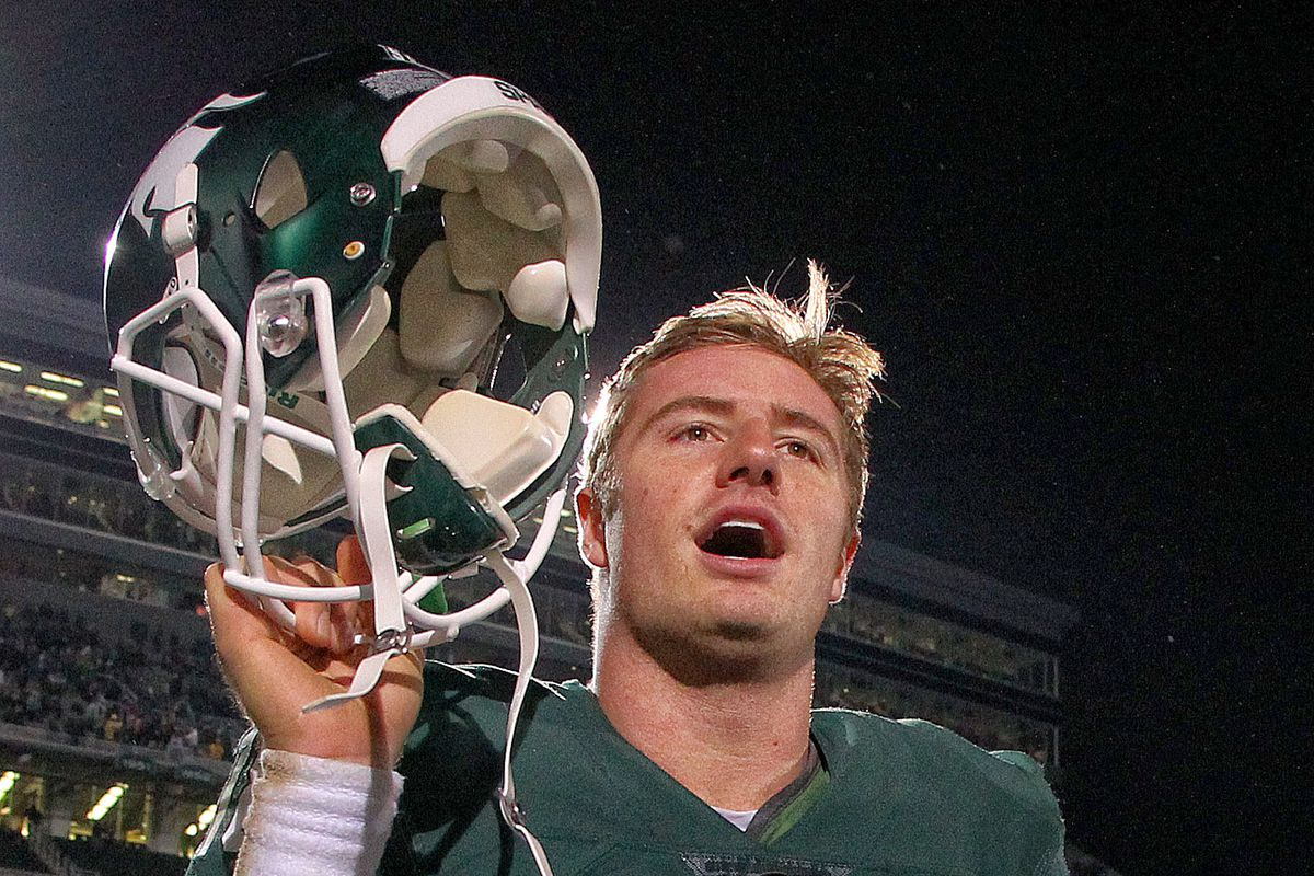 Connor Cook may have played his best game as a Spartan from a technical standpoint against Indiana
