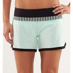 """<b>Lululemon</b> Groovy Run Short in mint moment, <a href=""""http://shop.lululemon.com/products/clothes-accessories/pump-up-the-gym/Groovy-Run-Short?cc=9980&skuId=3470248&catId=cat840002"""">$54</a>"""