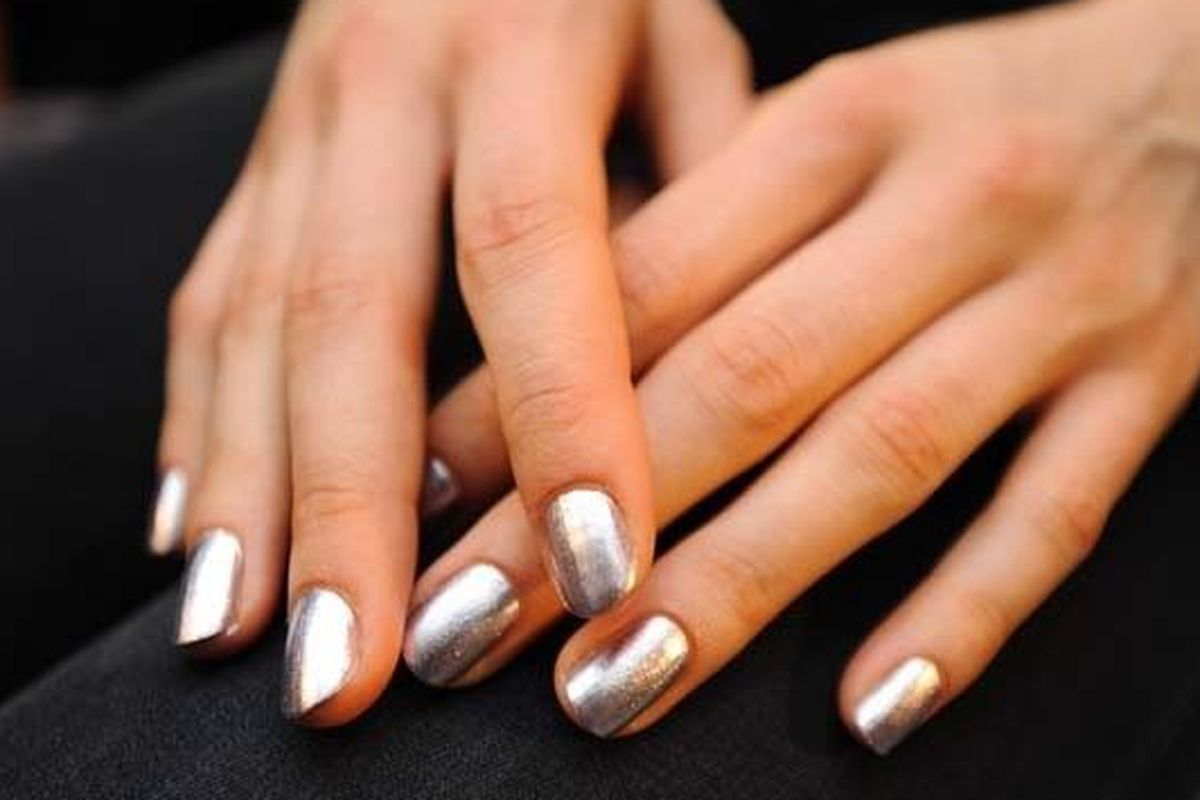 Erin Fetherston spring 13 nails, by Butter London
