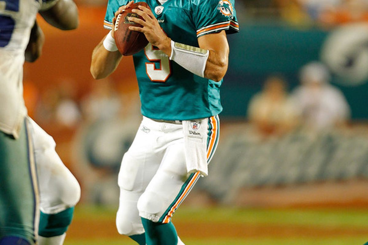 The Miami Dolphins released quarterback Pat Devlin today, just one of 27 roster moves completed by the team, ahead of the NFL's 53-manroster deadline.