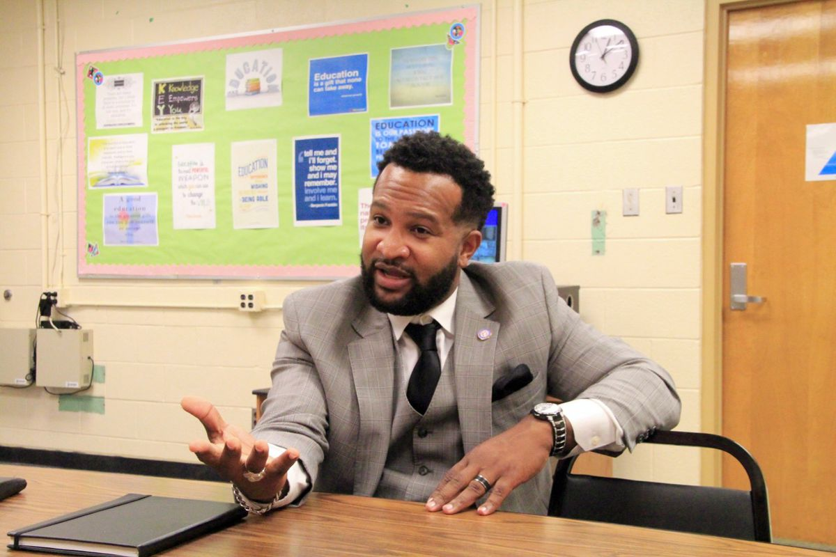 Antonio Burt became assistant superintendent in July over the Innovation Zone and other struggling schools within Shelby County Schools.