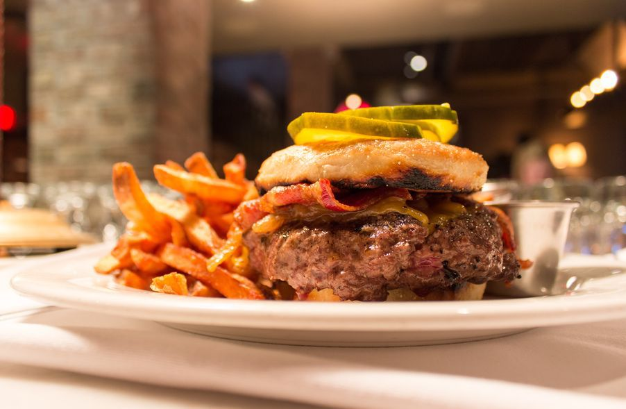 Russell House Tavern burger