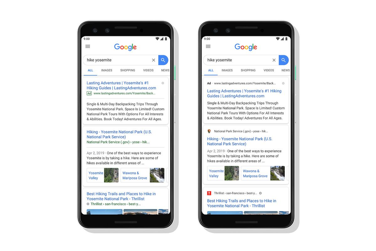 Google Is Updating Its Mobile Search Design To Highlight A
