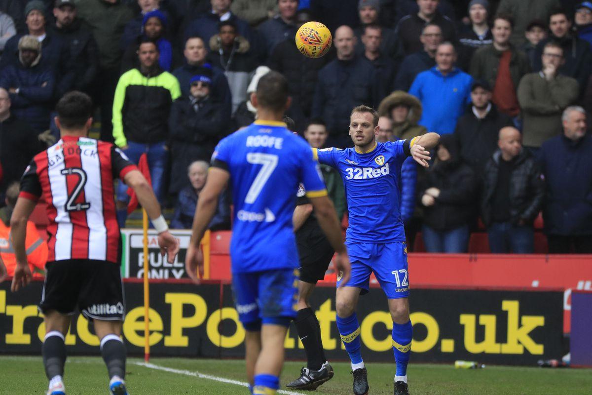 2018 EFL Championship Football Sheff Utd v Leeds Utd Feb 10th