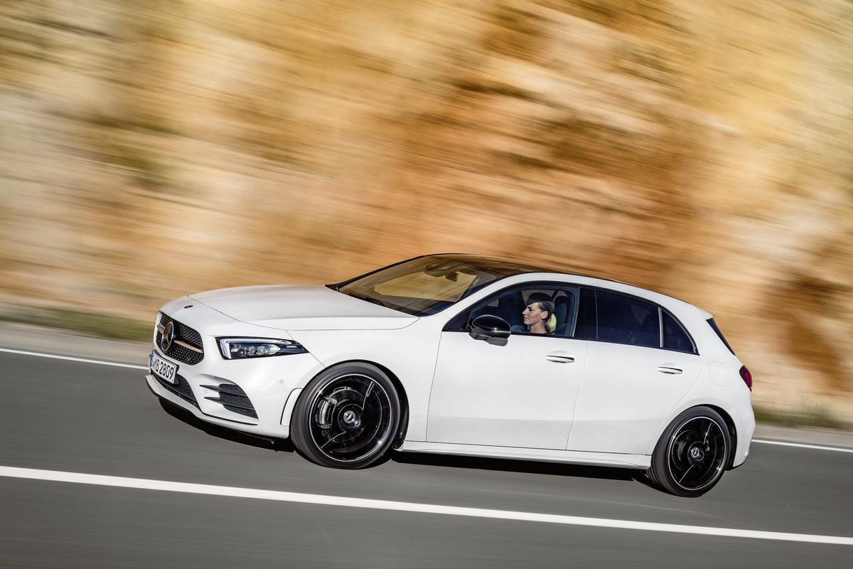 Mercedes Benz A Class >> Mercedes A Class Is The First Use Of The Company S New Voice