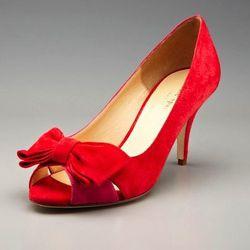 """<a href=""""http://www.gilt.com/sale/women/kate-spade-new-york-shoes/product/145788100-kate-spade-new-york-shoes-susan-peep-toe-pump"""">Susan peep toe pump</a>, $169 (was $325)"""