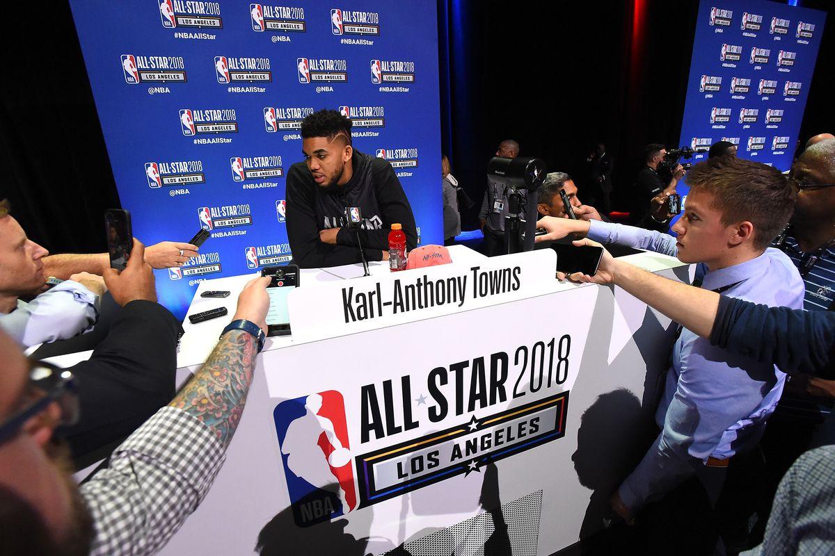 2018 NBA All-Star - Media Day & Practice