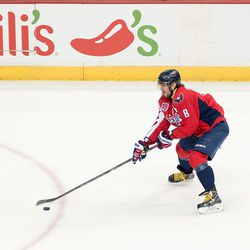 Ovechkin Looks To Make A Play