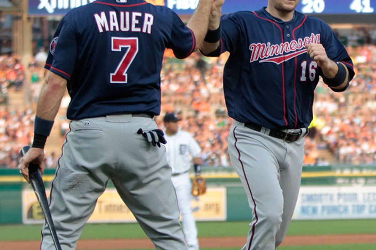 The Twins All-Star representatives--in our hearts, at least.