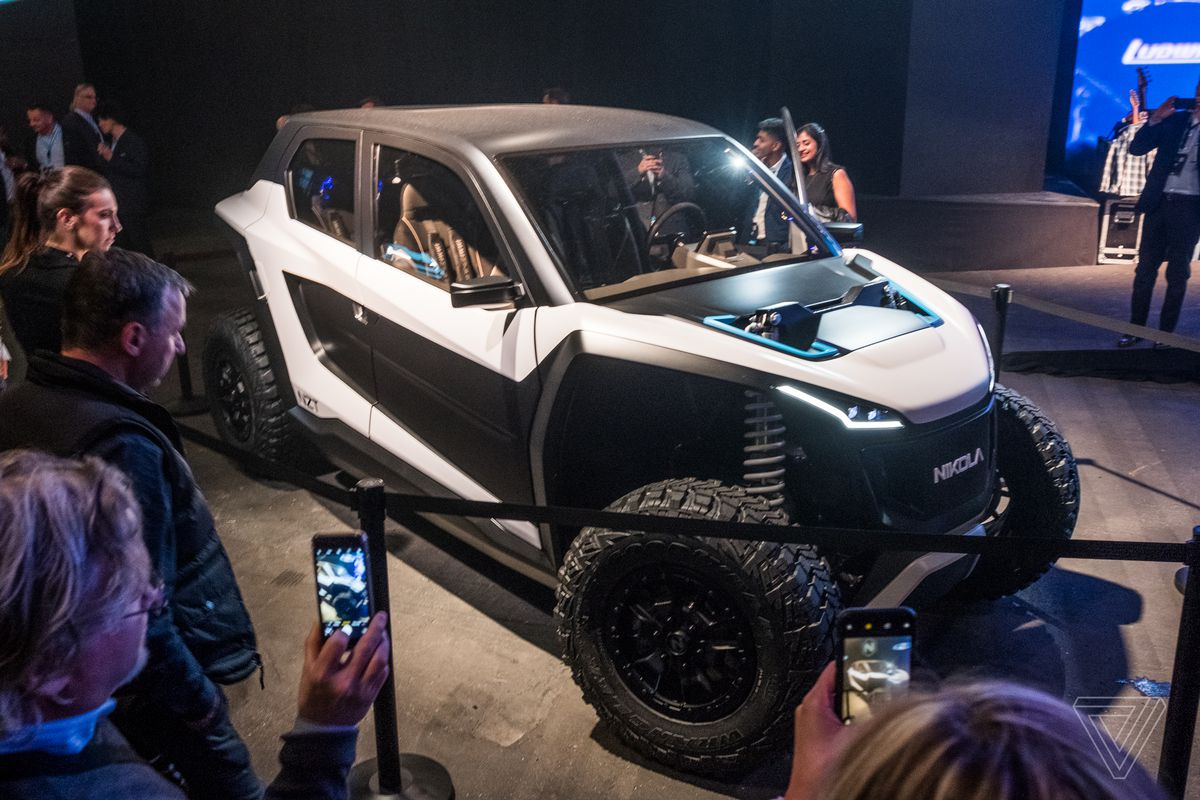 Nikola's off-road EV is a high-tech speed demon - The Verge 1