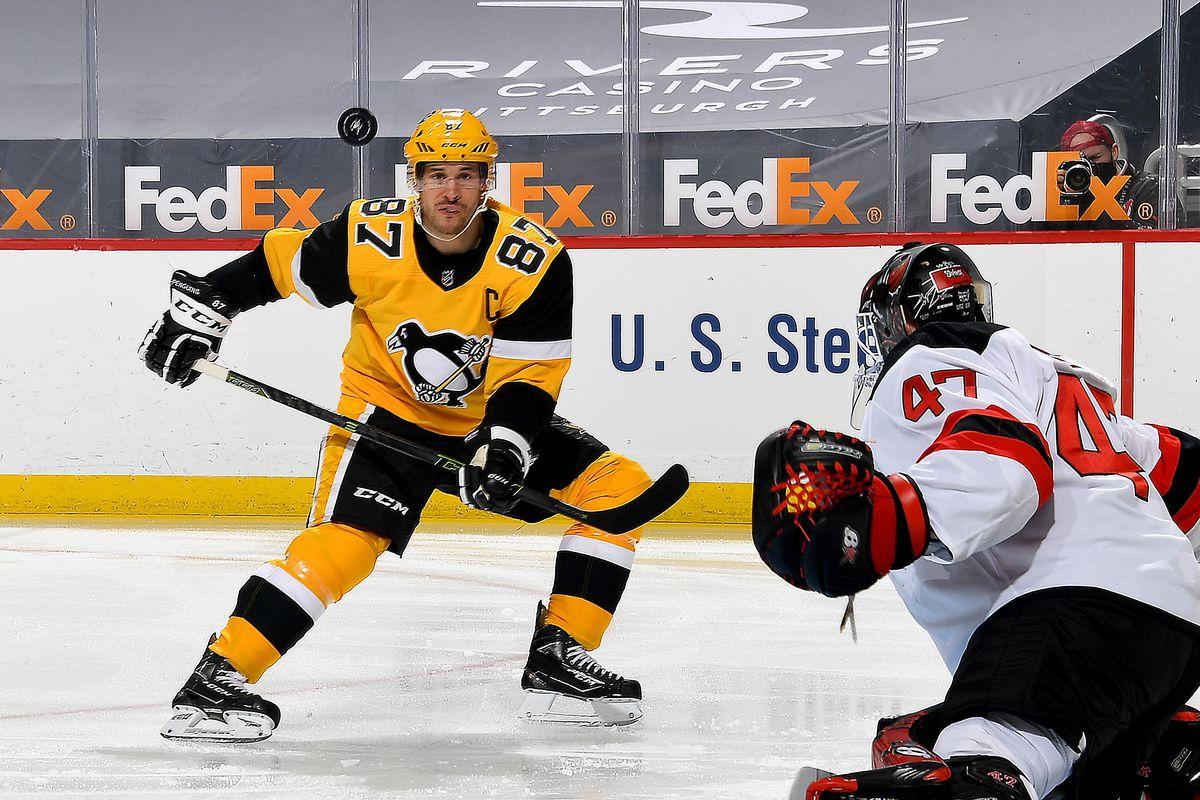 New Jersey Devils v Pittsburgh Penguins