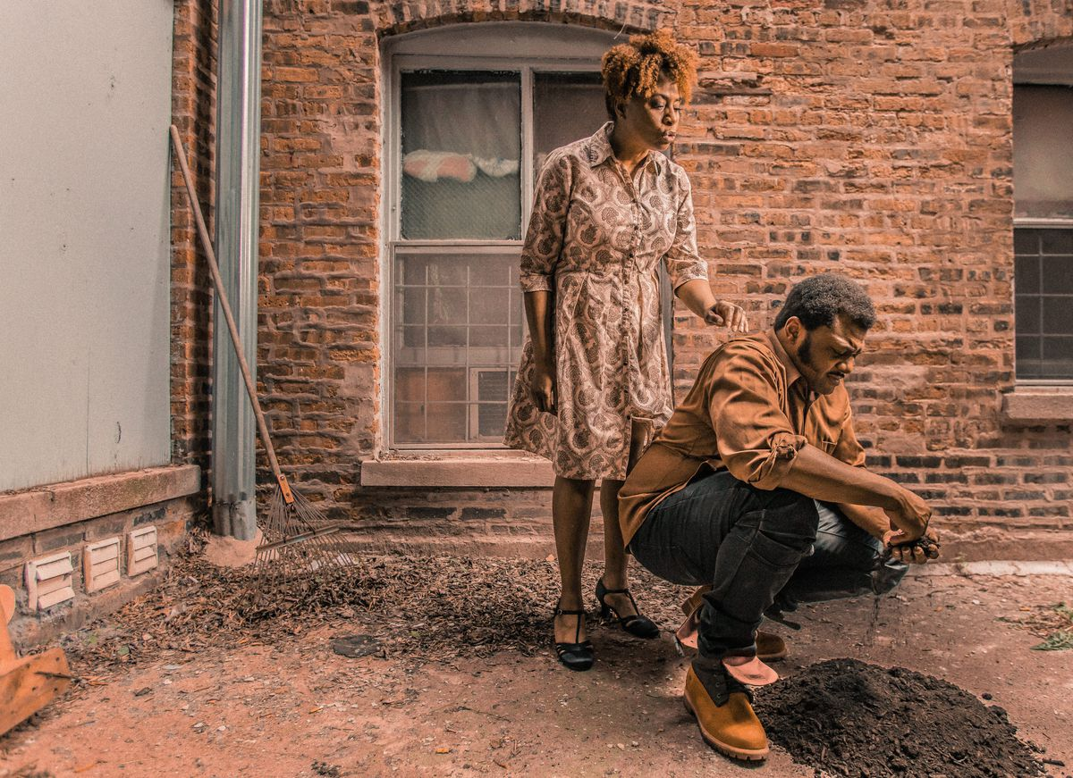 """TayLar and Kelvin Roston Jr. star in """"King Hedley II"""" at Court Theatre, running through Oct. 13."""